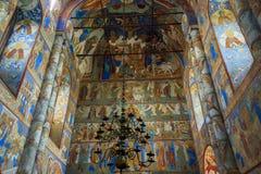 Alte Bögen orthodoxe Kirche Stockbilder