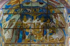 Alte Bögen orthodoxe Kirche Lizenzfreies Stockfoto