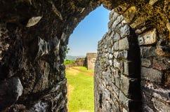 Alte Bögen und Struktur Indien Stockbilder