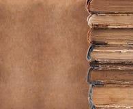 Alte Bücher. Stockfoto