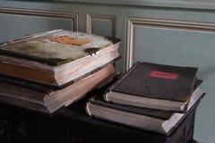 Alte Bücher Stockbild