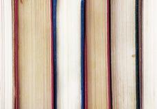 Alte Bücher, Abschluss oben Lizenzfreie Stockfotos