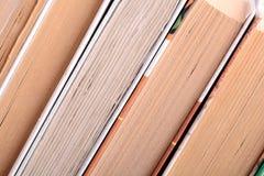 Alte Bücher, Abschluss oben Stockfotografie