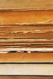 Alte Bücher backround Lizenzfreies Stockbild