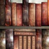 Alte Bücher, Bibliothek Lizenzfreies Stockfoto