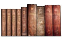 Alte Bücher, Bibliothek Stockfotos