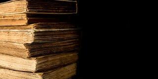 Alte Bücher - Copyspace Stockfoto