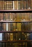 Alte Bücher in der Bibliothek von Coimbra Lizenzfreies Stockbild