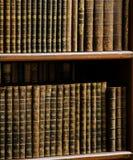 Alte Bücher in der Bibliothek von Prag Lizenzfreie Stockbilder