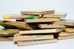 Alte Bücher der Kinder Stockbild