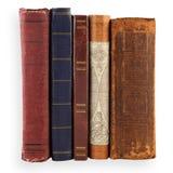Alte Bücher der Sammlung Stockfotos