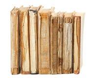 Alte Bücher der unterschiedlichen Form und der Farbe Lizenzfreies Stockbild