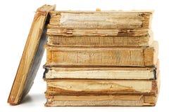 Alte Bücher der unterschiedlichen Form und der Farbe Lizenzfreie Stockbilder