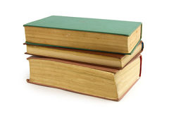 Alte Bücher der Weinlese Lizenzfreies Stockfoto