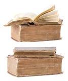 Alte Bücher der Weinlese Lizenzfreie Stockbilder