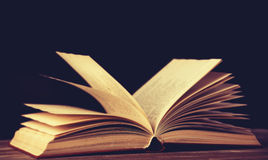 Alte Bücher der Weinlese Lizenzfreie Stockfotos