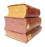 Alte Bücher des Buches Stockbilder
