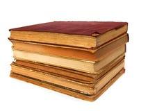 Alte Bücher des Buches Lizenzfreies Stockbild