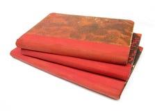 Alte Bücher des Buches Lizenzfreie Stockbilder