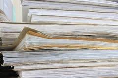 Alte Bücher des Kontos Lizenzfreies Stockbild