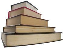 Alte Bücher des Stapels Lizenzfreie Stockfotos