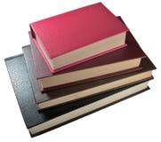 Alte Bücher des Stapels Stockbilder