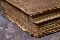 Alte Bücher in einer Schmutzart Lizenzfreie Stockfotos