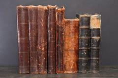 Alte Bücher eingestellt Lizenzfreie Stockfotos