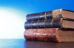 Alte Bücher eingestellt Lizenzfreies Stockfoto