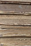 Alte Bücher für Gebrauch als Hintergrund Lizenzfreie Stockfotos