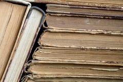 Alte Bücher für Gebrauch als Hintergrund Stockfotografie