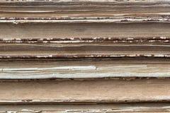 Alte Bücher für Gebrauch als Hintergrund Stockbild