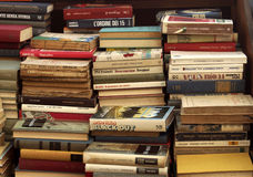 Alte Bücher für Verkauf Stockbild