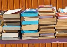 Alte Bücher für Verkauf Stockfotos