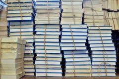 Alte Bücher gespeichert Stockfoto