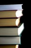 Alte Bücher gestapelt Stockfoto