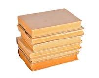 Alte Bücher getrennt Stockfotos
