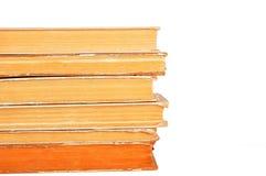 Alte Bücher getrennt Stockbilder