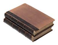 Alte Bücher lokalisiert Stockfotos