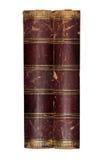 Alte Bücher lokalisiert Lizenzfreies Stockbild