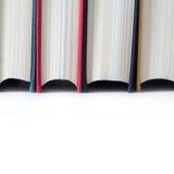 Alte Bücher Nahaufnahme Stockfotos