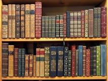 Alte Bücher, Oxford Stockbild