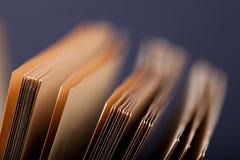 Alte Bücher Selektiver Fokus Flache Schärfentiefe Lizenzfreies Stockfoto
