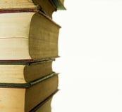 Alte Bücher vorangekommen Stockbilder