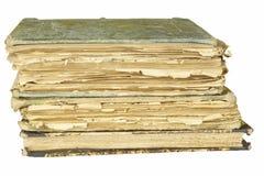Alte Bücher zu lesen Studieren von alten Wörterbüchern Lizenzfreie Stockfotografie