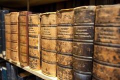 Alte Büchersammlung Lizenzfreies Stockfoto