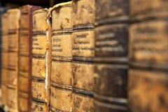 Alte Büchersammlung Lizenzfreies Stockbild