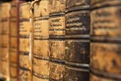 Alte Büchersammlung Lizenzfreie Stockbilder