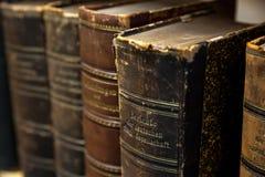 Alte Büchersammlung Lizenzfreie Stockfotografie