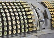 Alte Büromaschine Stockfotografie